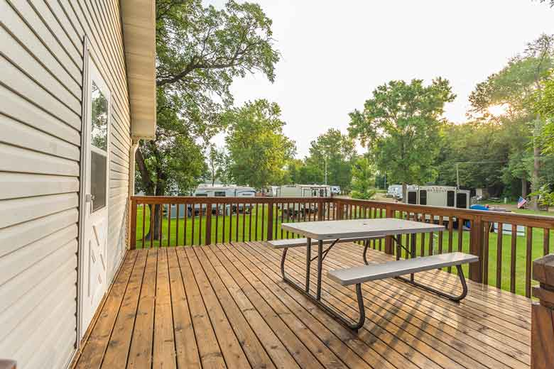 Barrett Lake Resort and Campground house rental