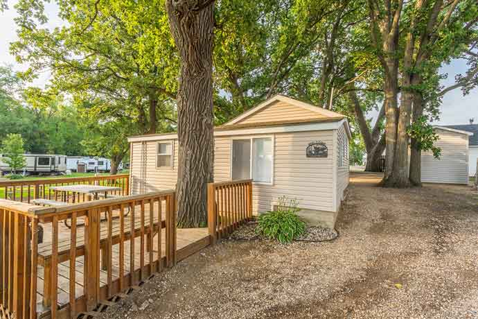 Barrett Lake Resort and Campground Cabin Rental