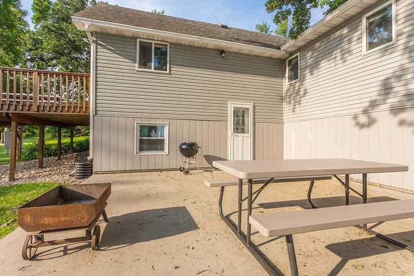 Barrett Lake Resort and Campground house rental interiors